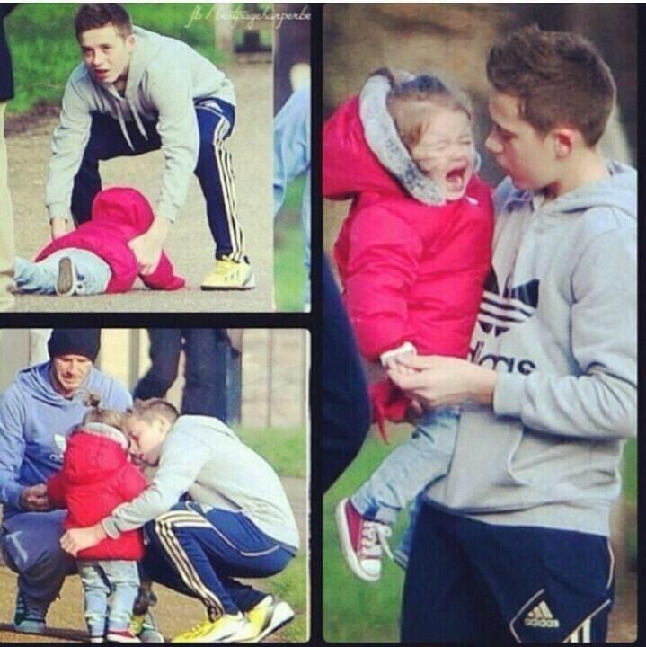 Brooklyn Beckham is the father of future children -Brigette Rogers *aka future Mrs.Beckham*