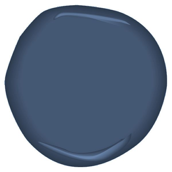 indi go-go CSP-565: This deep hue is the go-to blue for an unexpected experience. Benjamin Moore paints are available at Guiry's in the Denver area.