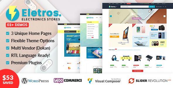 VG Eletros - Electronics Store WooCommerce Theme affiliates, Bootstrap 3, computers theme, ecommerce theme, electronics, Electronics Store, multipurpose, redux framework, responsove, rtl language, smartphones, visual composer, woocommerce theme, wordpress theme