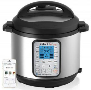 Do you guys prefer a slow cooker or pressure cooker? Save time in your kitchen! Use this bluetooth pressure cooker and save time!  7-in-1 Multi-Use Programmable Pressure Cooker Product: Instant Pot Smart Bluetooth 6 Qt 7-in-1 Multi-Use Programmable Pressure Cooker Price: $159.99 Size Of Container: 6 qt Cheapest Place To Buy: A…
