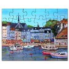 Honfleur, France Puzzle