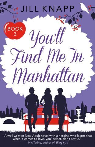 Comet Babe's Books: You'll Find Me in Manhattan by Jill Knapp
