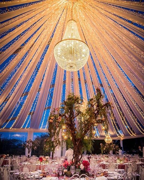 Our beautiful chandelier for a wedding in Madrid.  #chandelier #rental #wedding #event #luxe #stylist #decoration