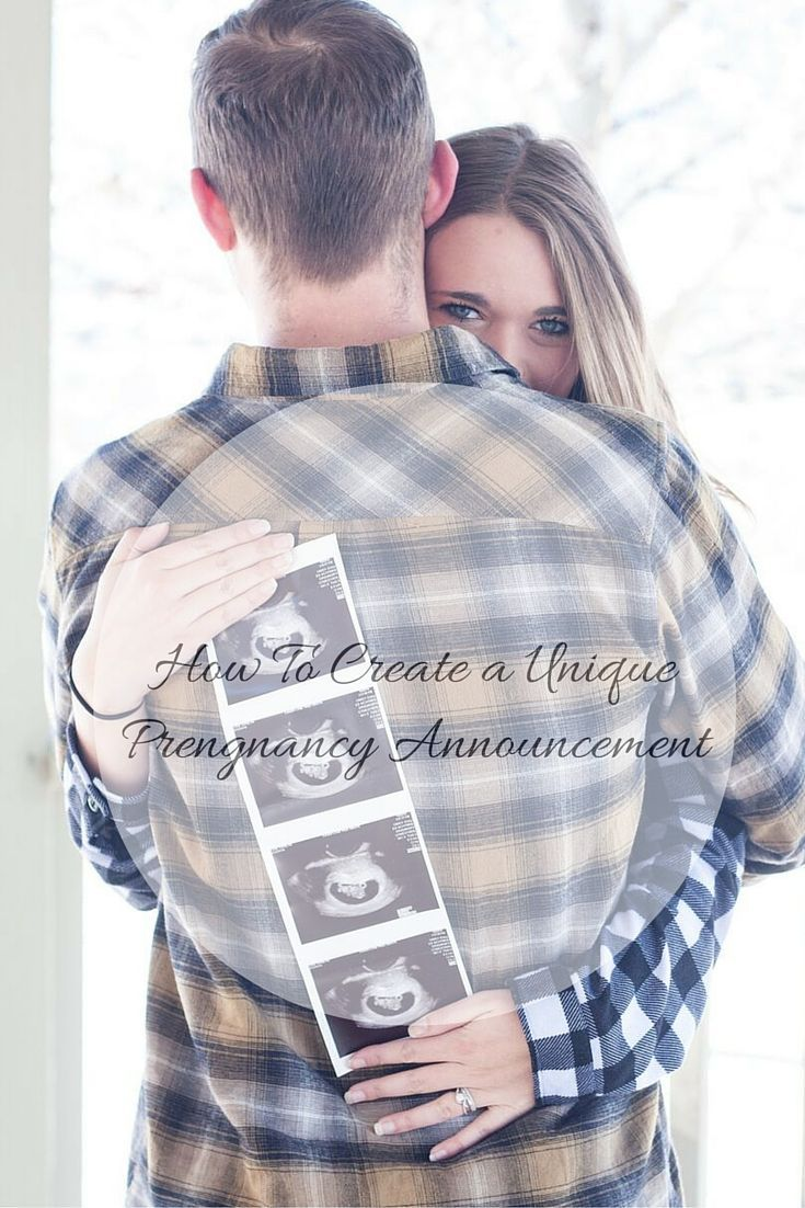 How to create a unique pregnancy announcement. Click for more ideas on how to…