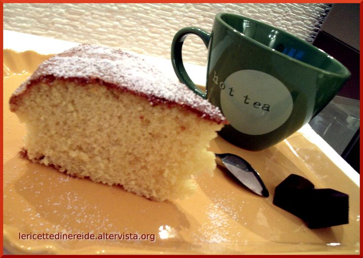 ciambellone classico morbido...  potete trovare la ricetta sul mio food blog: http://lericettedinereide.altervista.org/ciambellone-classico/