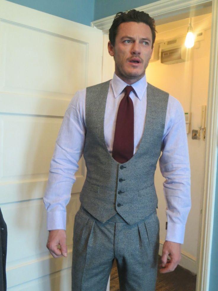Look 2 Thom Sweeney suit, Emma Willis shirt and tie