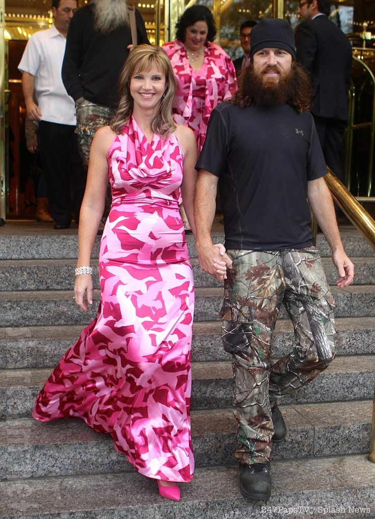 jase and missy robertson in pink camo - Jase Robertson Halloween Costume