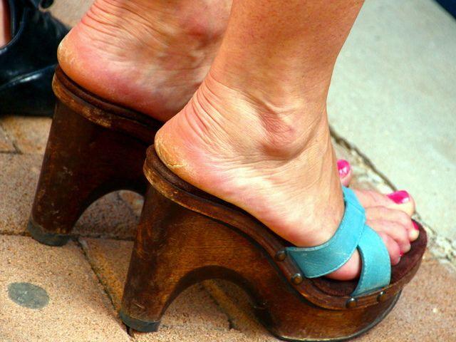 milf flat soles