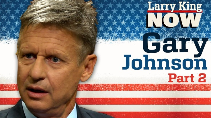 In the second installment of Larry's interview with Governor Gary Johnson, the Libertarian Presidential nominee sounds off on Obama's shortcomings, marriage equality, and the impact the Libertarian party has had on federal policy. Watch this full episode of #LarryKingNow on Ora TV & Hulu: http://on.ora.tv/O7v8Kd