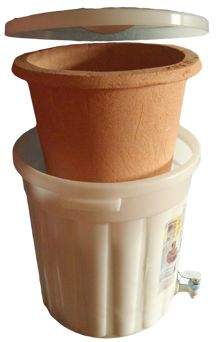 The ceramic water filter provides the vital service of technical assistance to organizations seeking to establish and maintain filter factories.