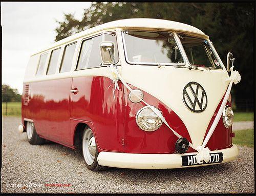 VW Camper Vintage Wedding