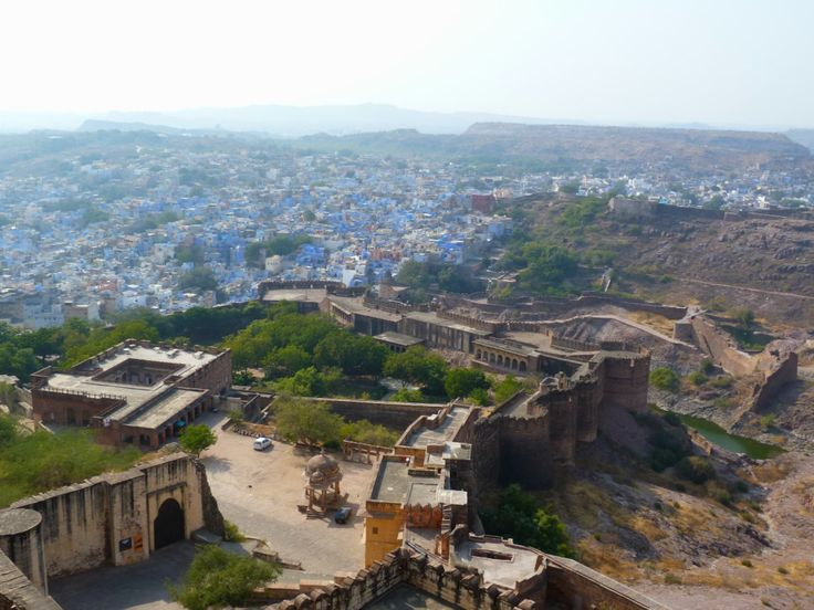 View from the Menanghar Fort / Vista desde el Fuerte de Menanghar