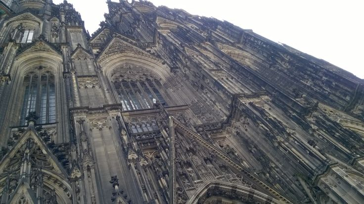 Cologne Cathedral is a fantastic example of gothic design! #photography #Koln #Cologne #Dom #Cathedral #gothic