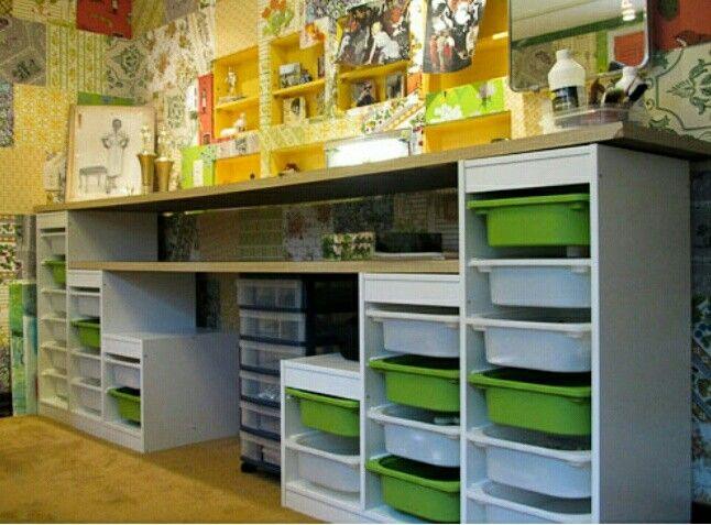 meuble ikea un peu detourne atelier couture pinterest crafts kid and storage. Black Bedroom Furniture Sets. Home Design Ideas