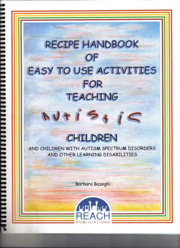 An Activity Book for Teaching Autistic Children - Autism Spectrum Disorders