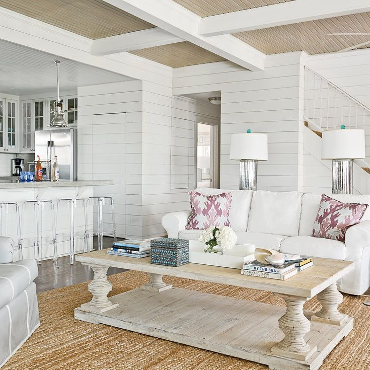 stylish coastal living rooms ideas e2. 20 Amazing Living Room Makeovers Stylish Coastal Rooms Ideas E2 N