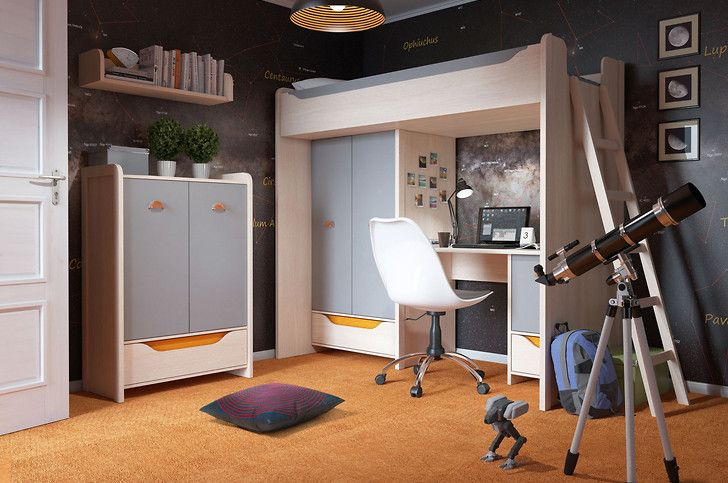 Rupi #room #children #inspiration #idea #decoration #meble #furniture #student
