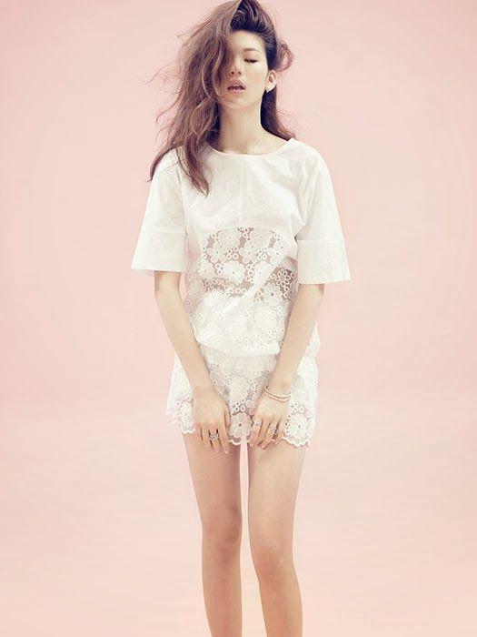 Kim Jin Kyung - Céci Magazine March Issue 2014