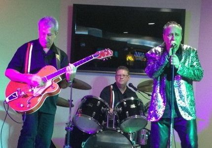 A professional Rock n Roll band performing all your favourite hits from the 50's, 60's and 70's. A must for any event looking for lively dance music and entertainment.