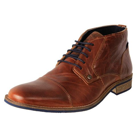 Men's Leather Lace Up Dress Chukka Boot | European Made Boots Online | The  Shoe Link. Wild RhinoMens Casual ...