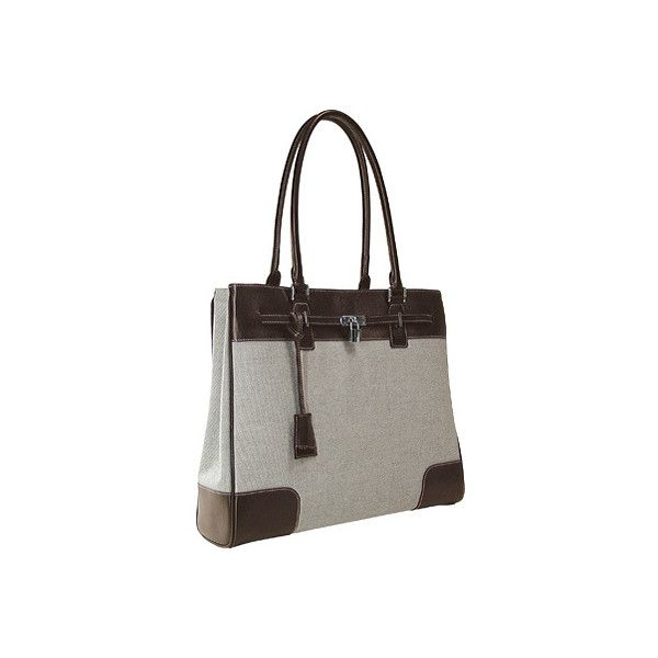 """Women's Mobile Edge The Madison Tote- 15.4""""PC/17""""Mac (€130) ❤ liked on Polyvore featuring bags, handbags, tote bags, computer cases, laptop tote bag, leather hand bags, leather handbag tote, leather zip tote and purse pouch"""