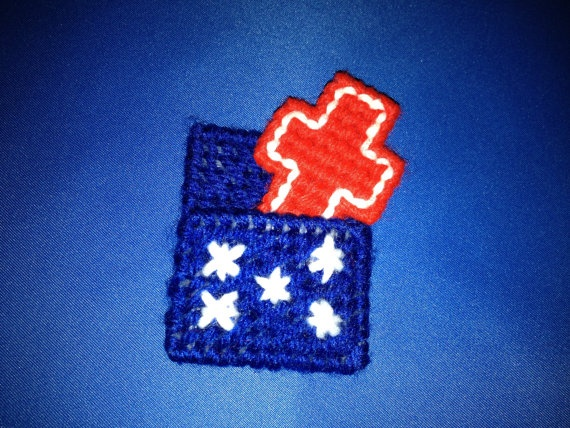 140 best crosses in plastic canvas images on pinterest for Cross in my pocket craft