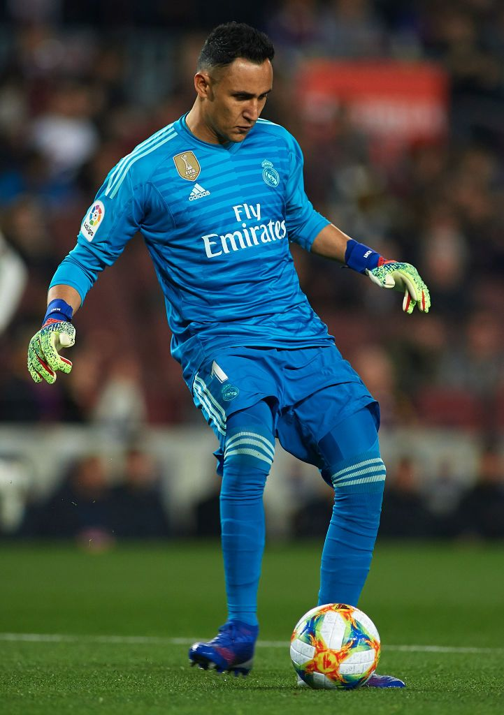 Keylor Navas Of Real Madrid In Action During The Copa Del Rey Semi Real Madrid Madrid Sports Images
