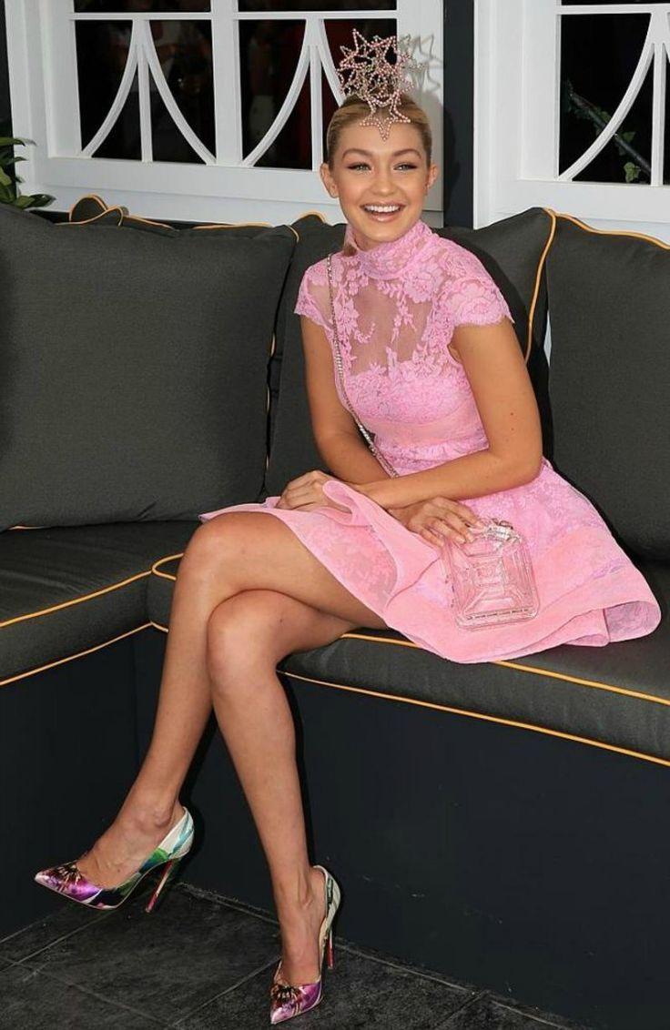 Gigi Hadid Spring Race Inspiration 2015