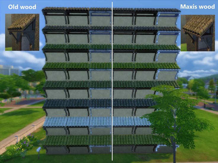 Mod The Sims - Forestgreen Shade Awning