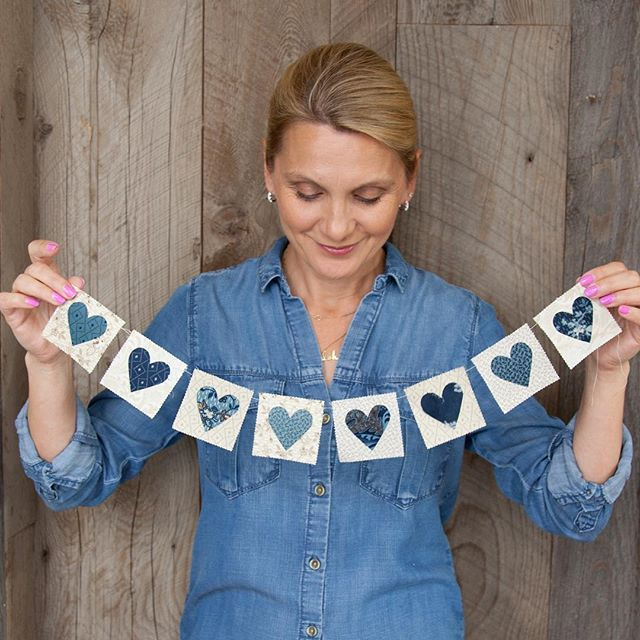 Sew in Love with quilting! My Blue Barn fabric collection - available June 2016. #bluebarn #edytasitar #laundrybasketquilts @modafabrics #showmethemoda #quilting #winter #sewinlove