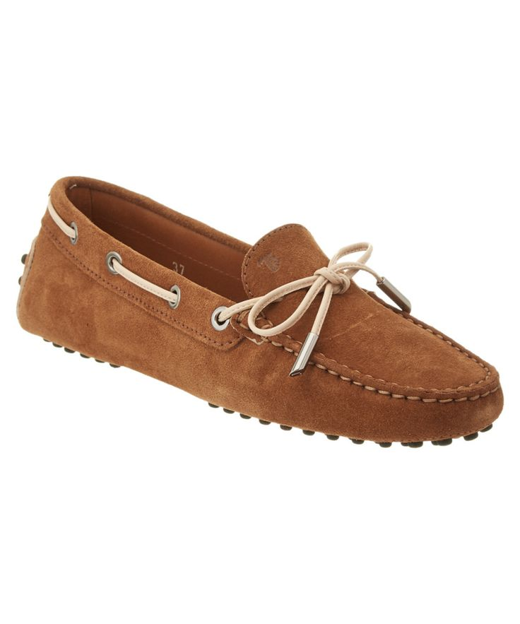 TOD'S-Tod's Gommino Suede Driving Shoe #Shoes #Flats #TOD'S
