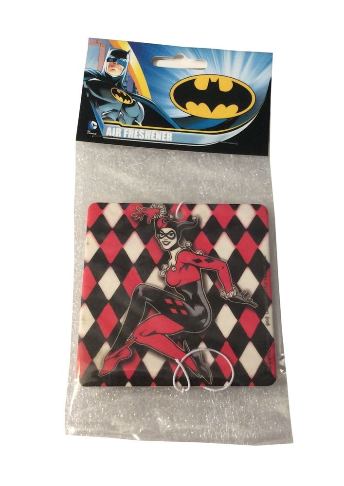 DC Comics Harley Quinn Strawberry Scent Auto Office  Air Freshener #DC