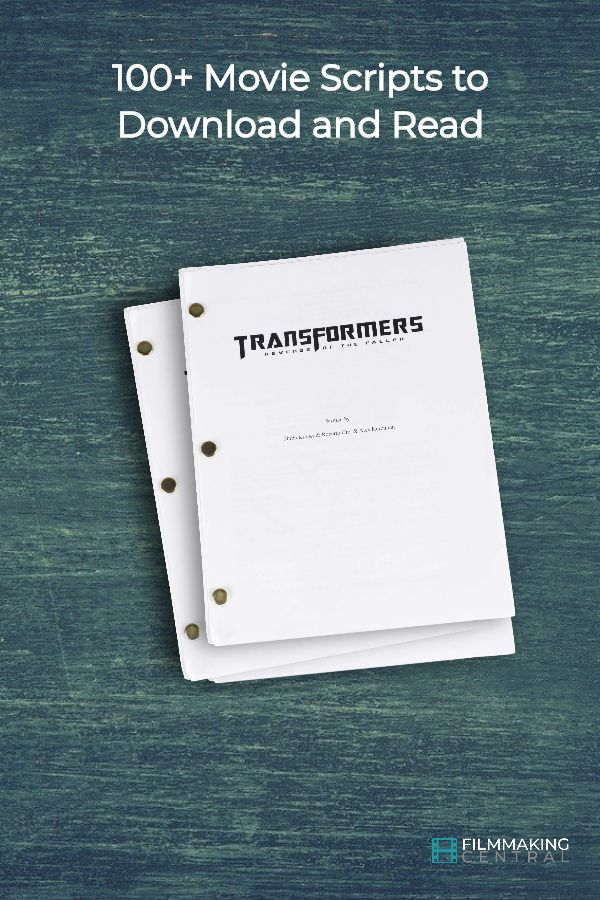 100 Movie Scripts To Download And Read Movie Scripts Film Script Screenwriting