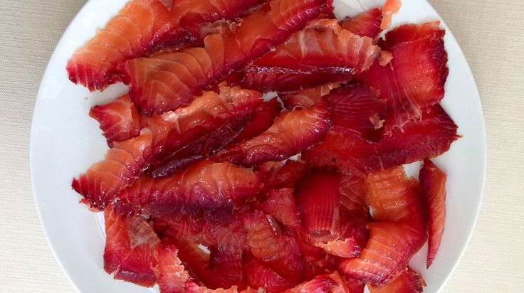 This simple twist on the normal gravad lax cure of sugar, salt and dill was created for us by Swedish food stylist and blogger Steffi Knowles-Dellner.The beetroot gives a beautiful colour to the salmon. For another take on beetroot cured salmon take a look at Anna Hansen's recipe here. Serves 4 You will need: 400g […]