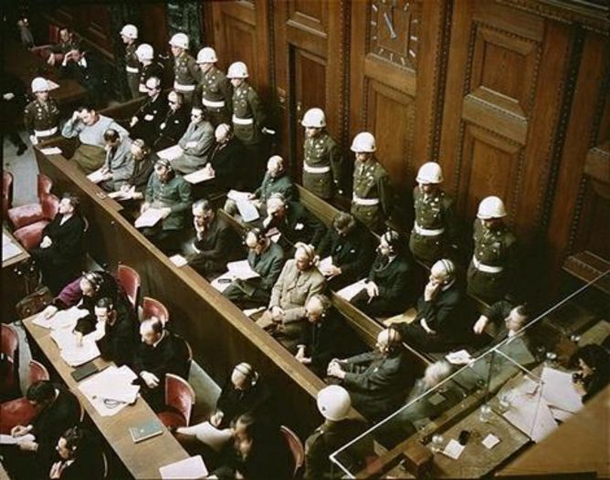 70 years ago on November 20 1945, The First Nuremberg Trials Began - The Nuremberg trials were a series of 13 military tribunals against the Nazi leaders seeking justice for the atrocities committed by Hitler and the Axis forces during World War II. 22 Nazi leaders went on trial in the German city of Nuremberg on Nov. 20, 1945. Four judges from the International Military Tribune (IMT) presided over the trials. The four judges were from the United States, Great Britain, Soviet Union and…