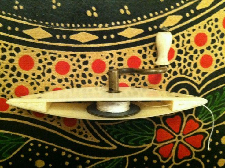 1868 En Parker Tatting Shuttle | eBay