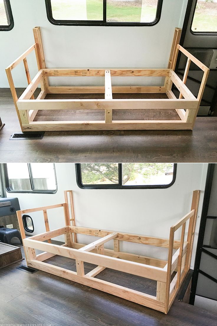 Looking To Build A Custom Seating Inside Your RV Or Camper? Come See How We