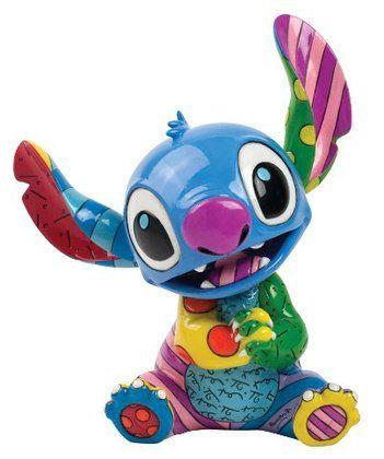 Enesco Disney by Britto Stitch by Britto Figurine, 7.625