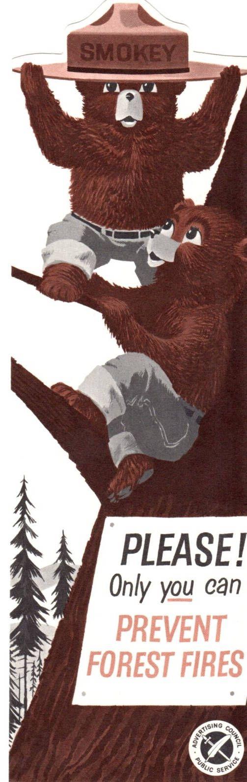 Smokey bear hometown ass