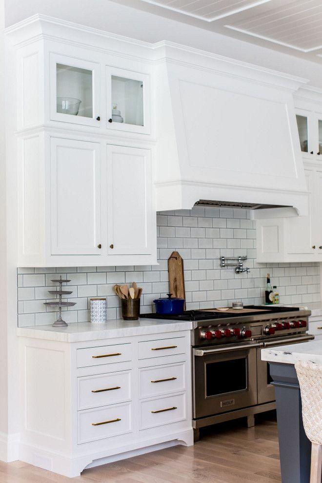 Kitchen Backsplash Ann Sacks Savoy Ceramic Field Tile 3 8 X 7 Similar Can Be Found Here Range Is Wolf White