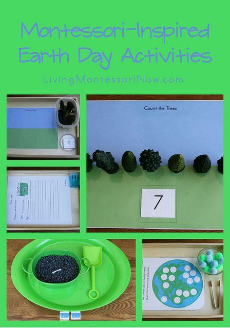 Free Earth Day Printables and Montessori-Inspired Earth Day Activities #Montessori #preschool #homeschool