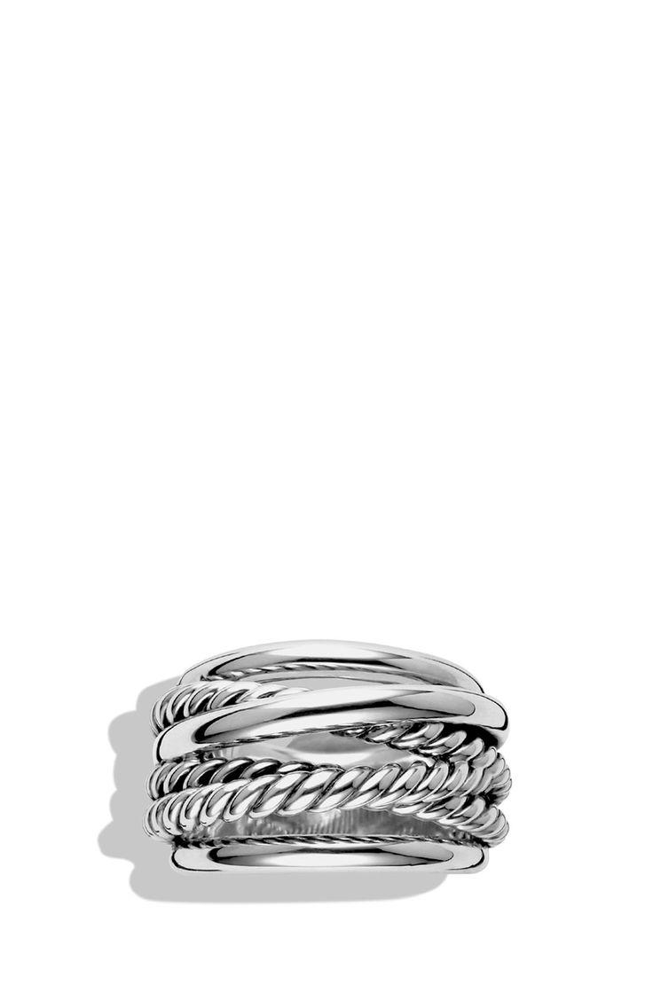 David Yurman 'crossover' Narrow Ring