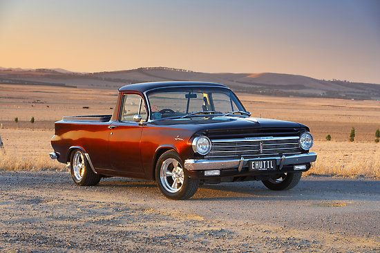 Old school Holden Ute pickup