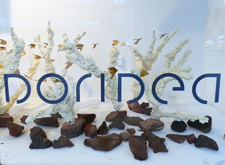 Doridea windows Spring/Summer 2012, Budapest visual merchandising