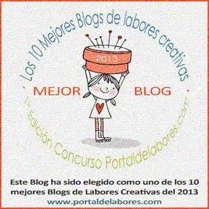 La Trastienda de Limón y Neda elegido como uno de los 10 mejores blogs de labores creativas del 2013 por portaldelabores.com
