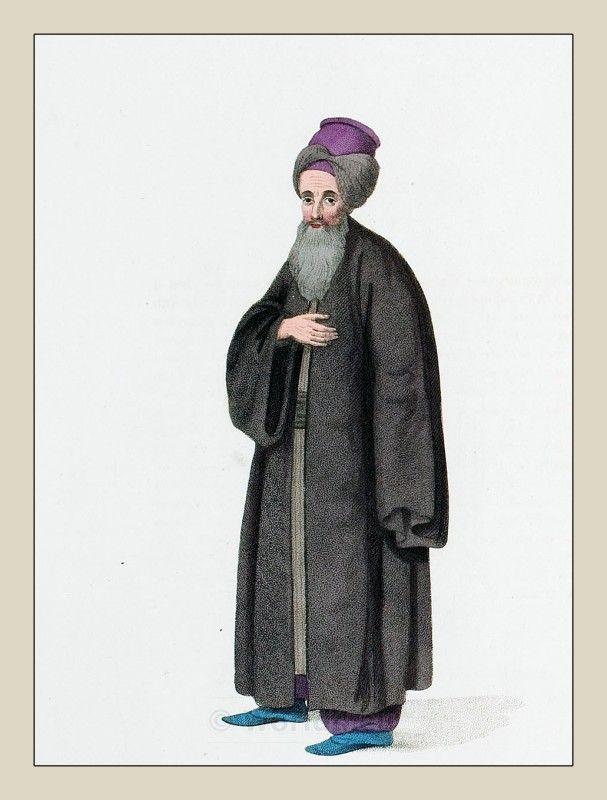 Jewish Citizen Of Constantinople Ottoman Empire 1800