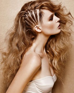 Best 20 Edgy Long Hairstyles ideas on Pinterest  Viking hair