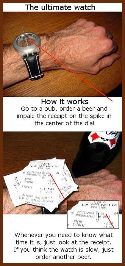 The ultimate Irish wristwatch…