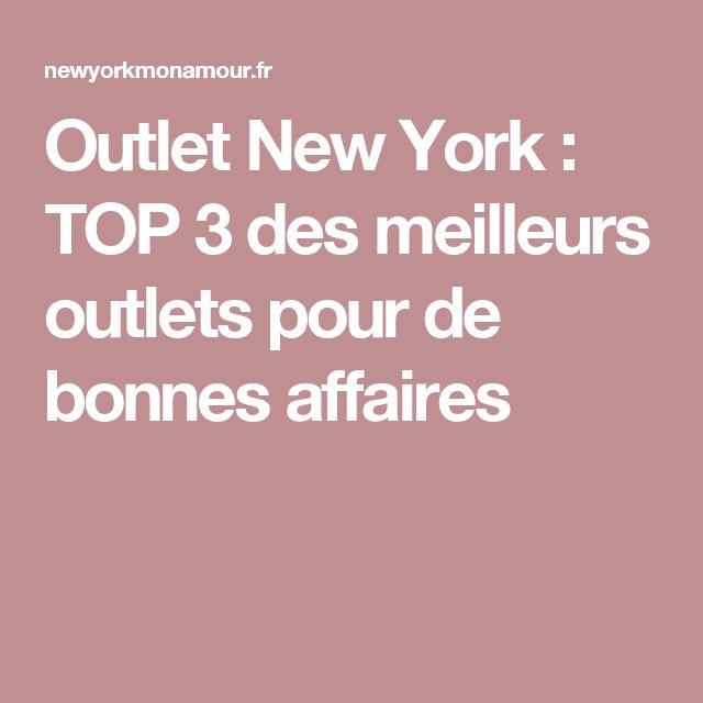Outlet New York : TOP 3 des meilleurs outlets pour de bonnes affaires