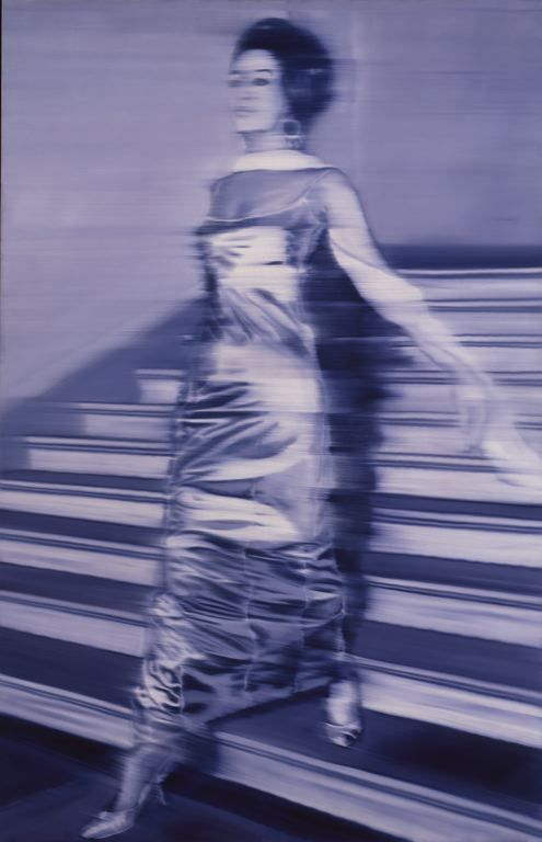 Gerhard Richter  German, born 1932, Woman Descending the Staircase (Frau die Treppe herabgehend)
